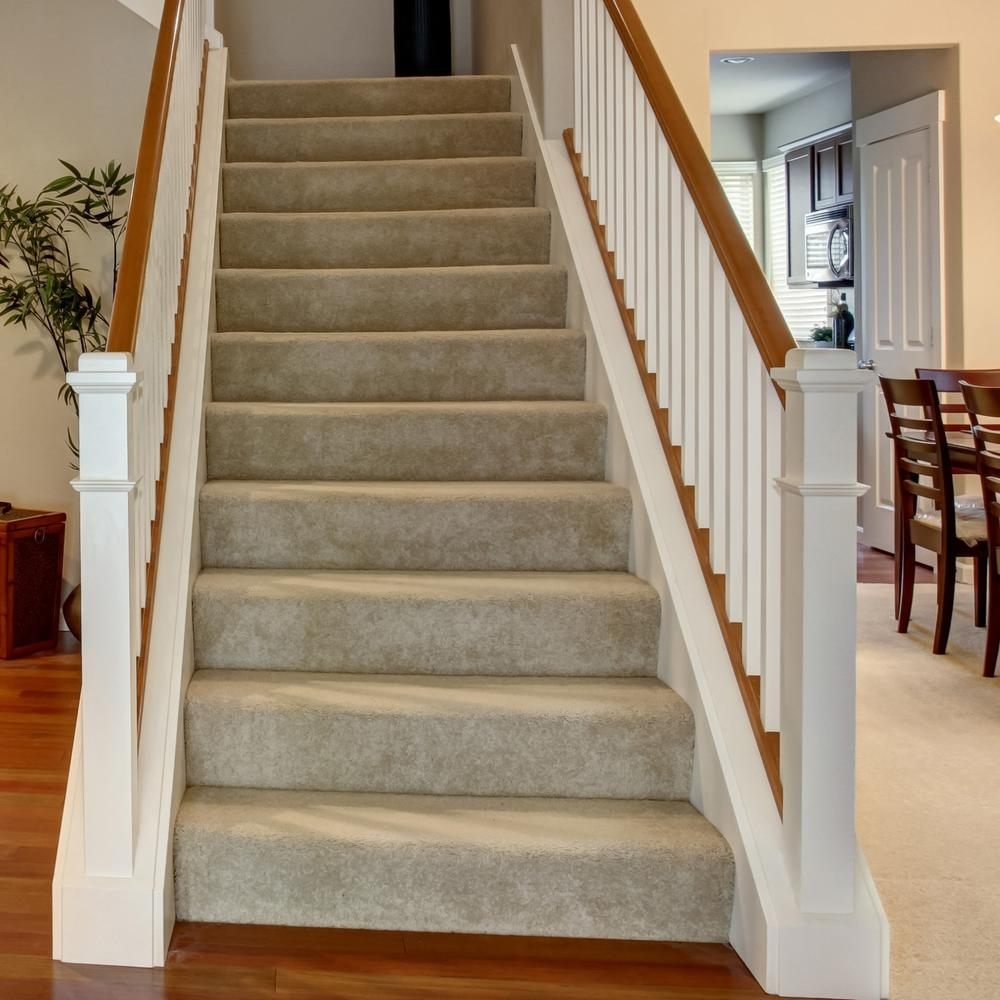 48 In X 11 1 2 In Unfinished Pine Stair Tread 8503E 048 Hd00L | Home Depot Hand Railing Interior | Stair Treads | Staircase | Box Newel Post | Railing Systems | Iron Railings