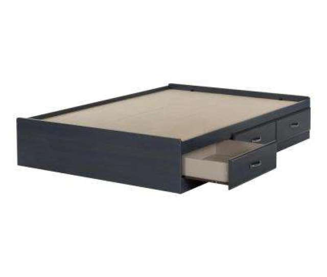Ulysses 3 Drawer Blueberry Full Size Storage Bed