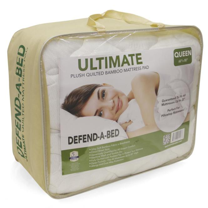 Ultimate Twin Size Bamboo Rayon Quilted Waterproof Mattress Protector