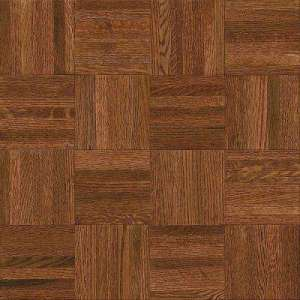 Parquet   Solid Hardwood   Hardwood Flooring   The Home Depot Natural Oak Parquet Cherry 5 16 in  Thick x 12 in  Wide x