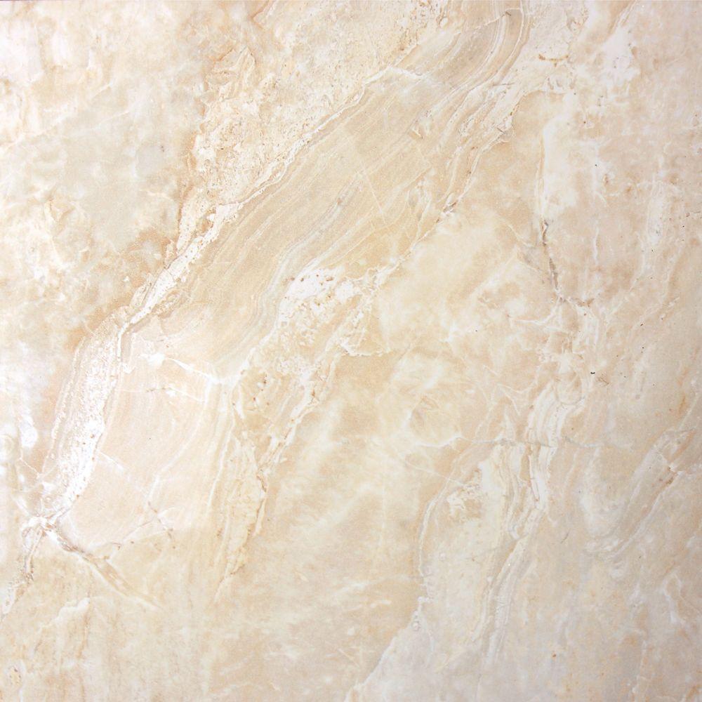 MSI Onyx Crystal 24 In X 24 In Polished Porcelain Floor