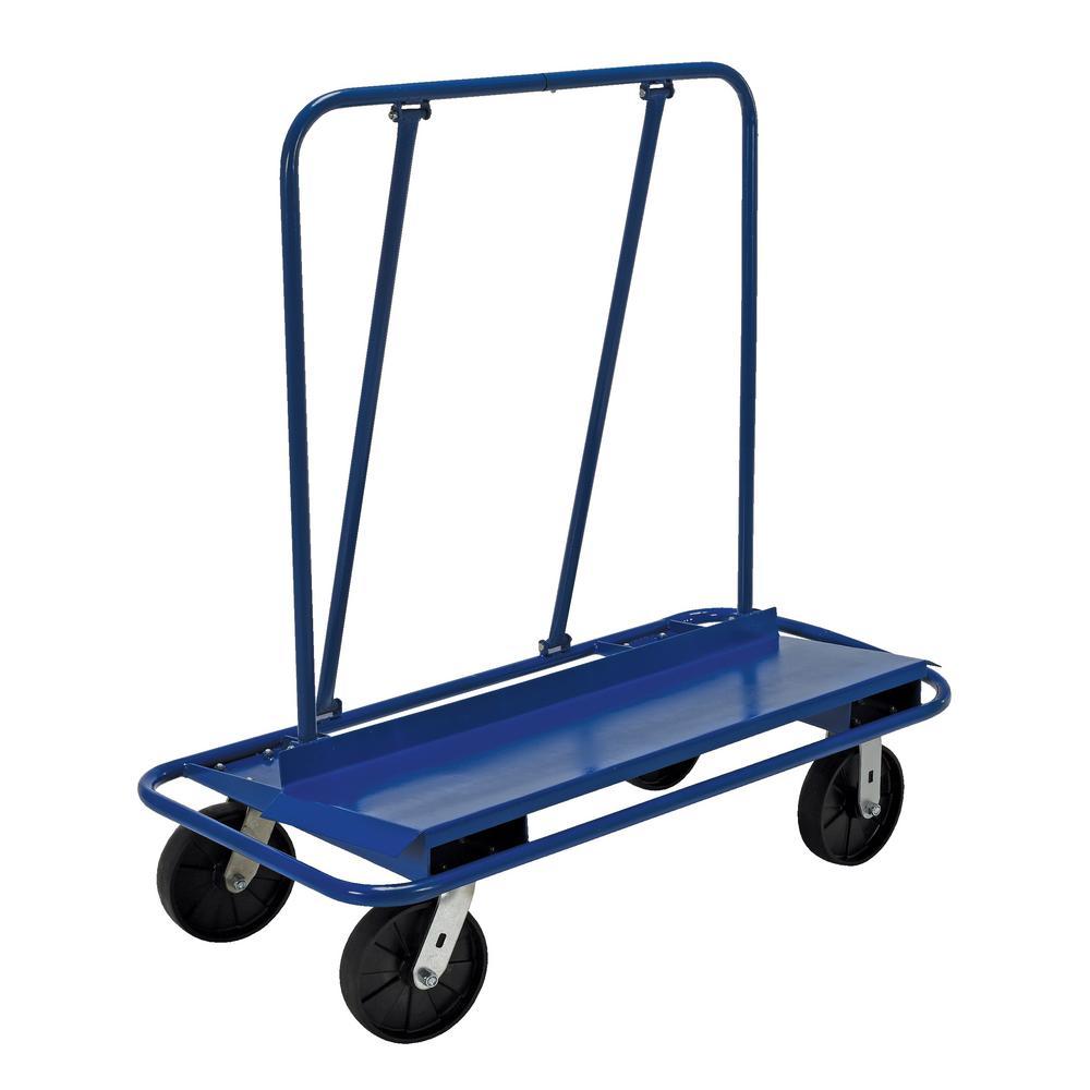 Vestil 3000 Lb Capacity DrywallPanel Cart With Glass