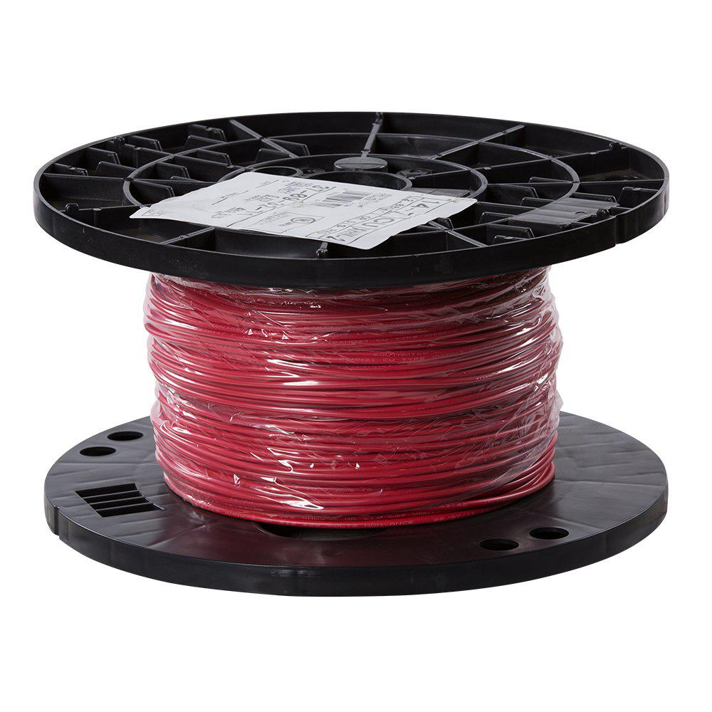 Southwire 500 Ft 14 Red Stranded Cu Xhhw Wire
