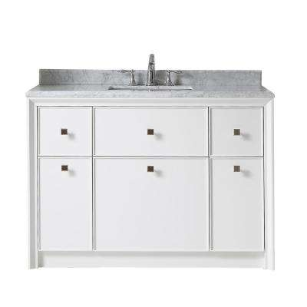 48 inch vanities - gray - bathroom vanities - bath - the home depot