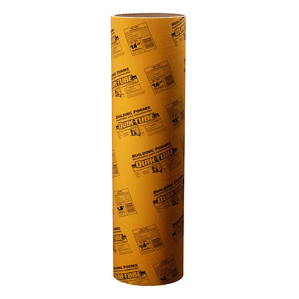 Quikrete 14 In X 48 In Tube For Concrete 692204 The