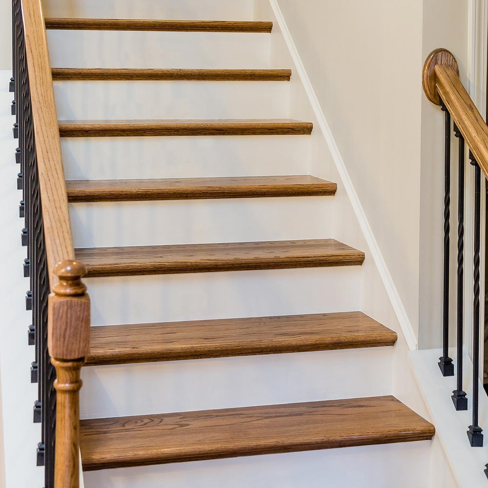 11 1 2 In X 36 In Red Oak Engineered Plain Stair Tread 8530R 036 | Hardwood Treads And Risers | Stair Nosing | Carpet | Hardwood Flooring | Red Oak | Stair Tread
