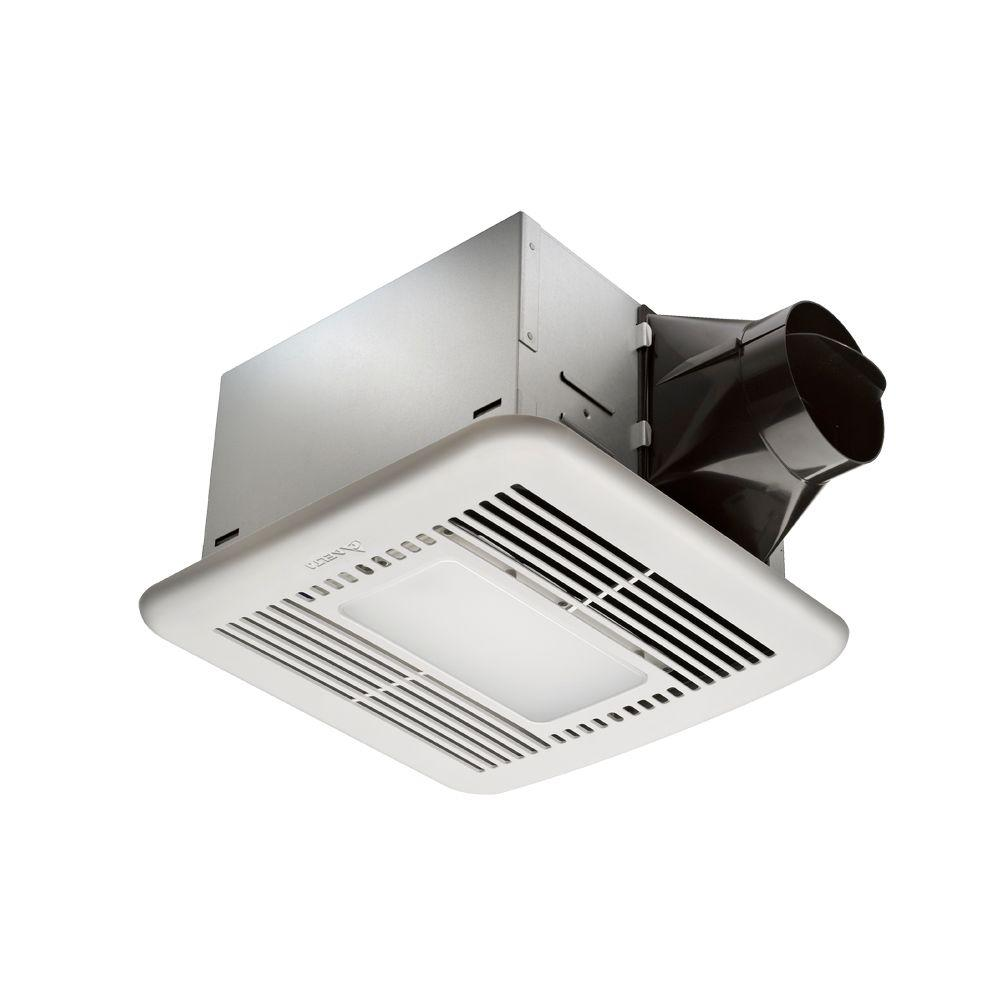 hampton bay 80 cfm ceiling exhaust fan with led light and