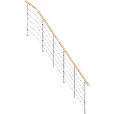 Kit Interior Stair Railings Stair Parts The Home Depot | Home Depot Stair Banister | Wrought Iron Stair | Metal | Deck Railing | Railing Kits | Railing Systems