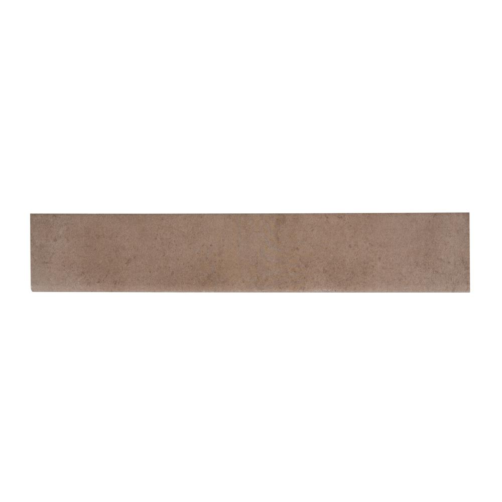 ranier taupe 9 5 in x 35 in glazed porcelain floor and wall tile 13 86 sq ft case nhdraitau9 5x35 302605026