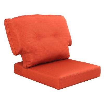 charlottetown quarry red replacement outdoor chair cushion