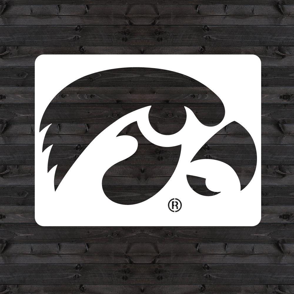 U Stencil Iowa Quot Hawkeye Quot Mini Stencil Iowoos 201 The