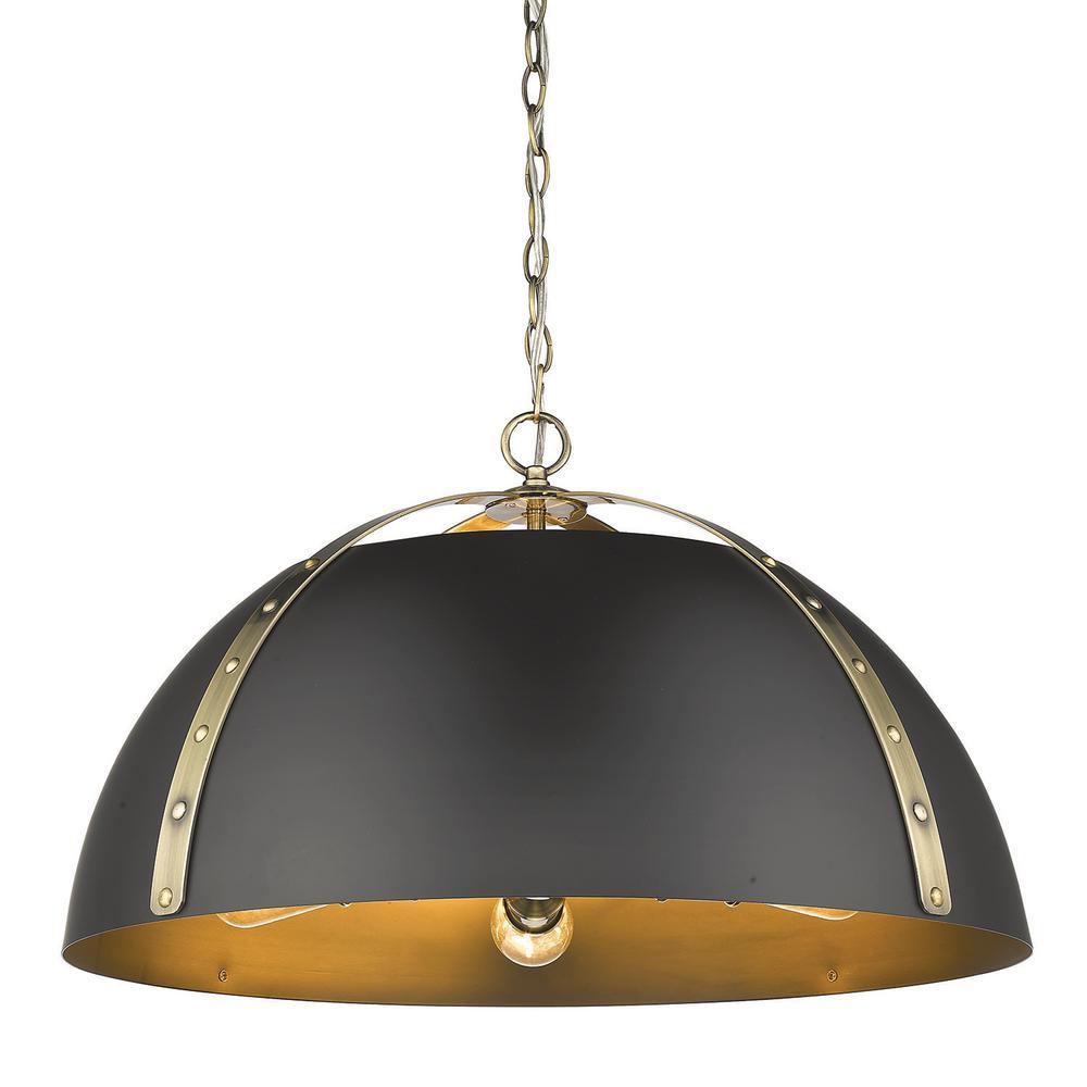 stunning black and gold pendant lights