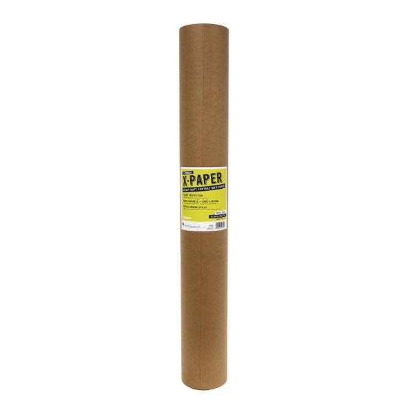 Floor Protection Film   Floor Protection Materials   The Home Depot X Paper 36 in  x 100 ft  Roll