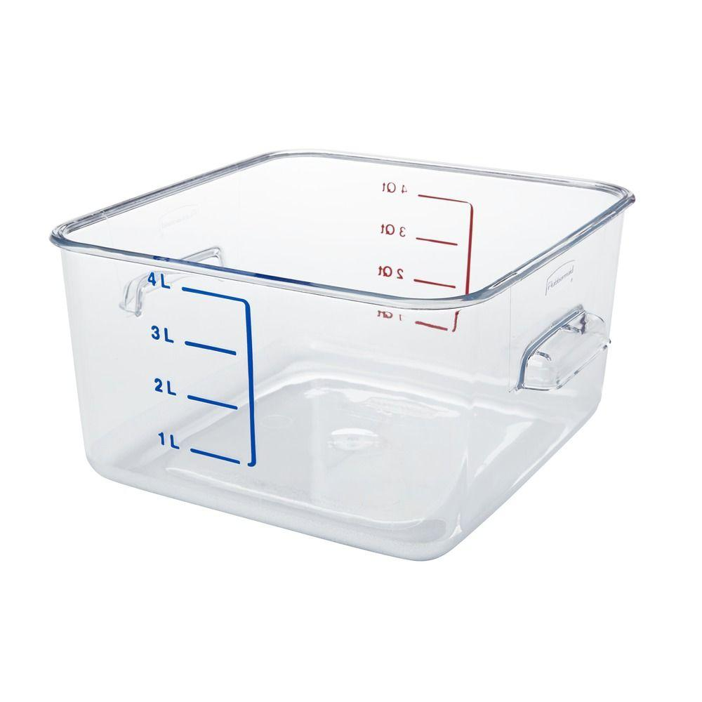 Wonderful 100 Gallon Clear Storage Bins - rubbermaid-commercial-products-food-storage-containers-rcp6304cle-64_1000  Collection_165520.jpg
