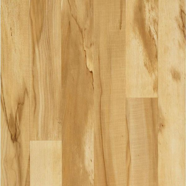 Hampton Bay Toasted Spalted Maple Laminate Flooring   5 in  x 7 in     Hampton Bay Toasted Spalted Maple Laminate Flooring   5 in  x 7 in  Take