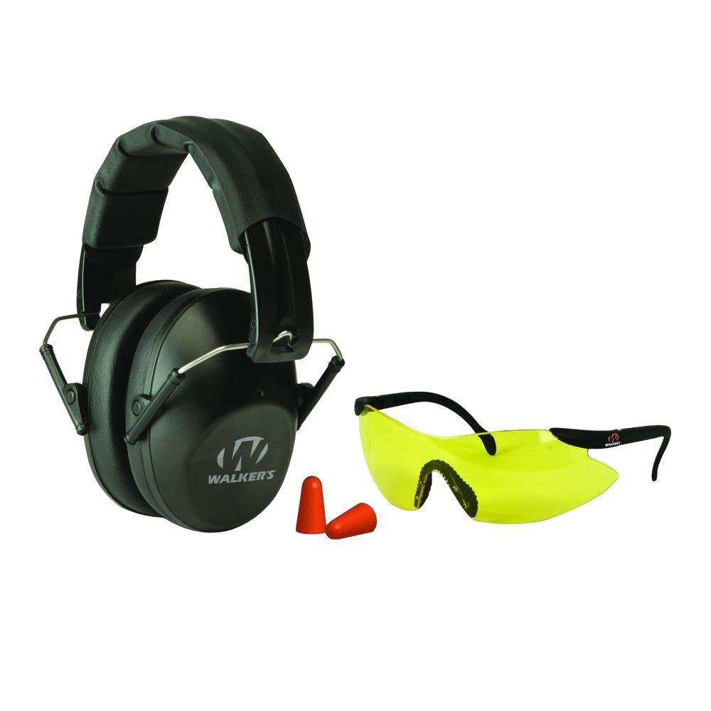 Walkers Game Ear Pro Low Profile Folding MuffGlasses