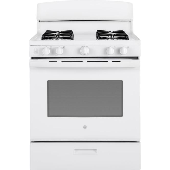 Mabe 20 In 2 4 Cu Ft Single Oven Gas Range White Jem5110tbb The