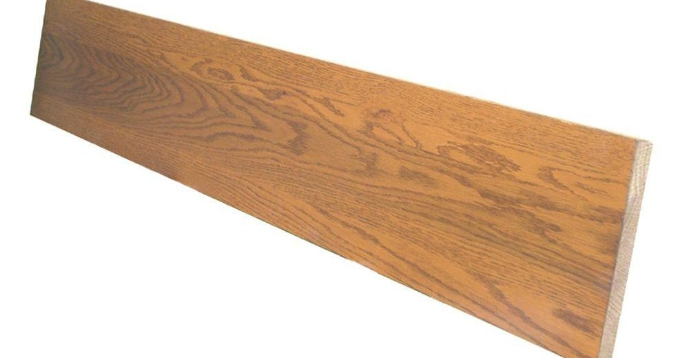 Stairtek 75 In X 7 5 In X 36 In Prefinished Gunstock | Oak Stair Treads At Home Depot