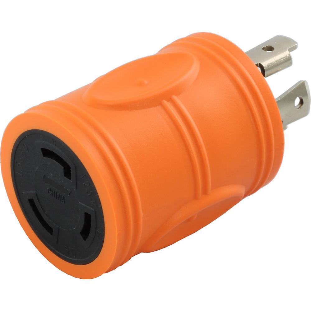 Ac Connectors Locking Adapter Nema L14 30p 30amp 125