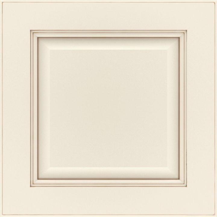 Manteo Cabinet Door Sample In Cotton With Toasted Almond