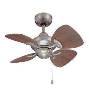 24   30   Ceiling Fans Without Lights   Ceiling Fans   The Home Depot Satin Nickel Ceiling Fan