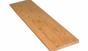 Stairtek 1 In X 11 5 In X 42 In Prefinished Gunstock Red Oak   Prefinished Stair Treads Home Depot   Stair Parts   Natural Maple   Risers   White Oak Stair   Unfinished Maple