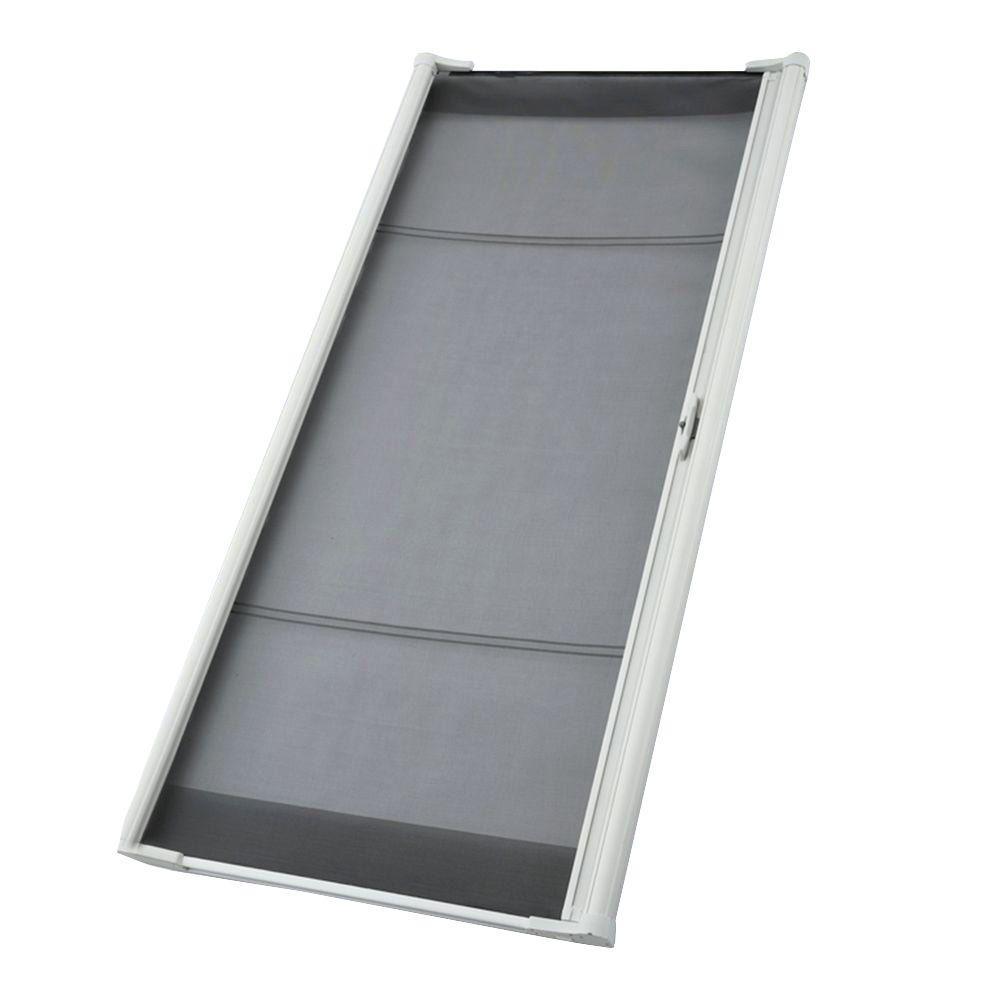 Odl 36 In X 78 In Brisa White Sliding Retractable Screen Door