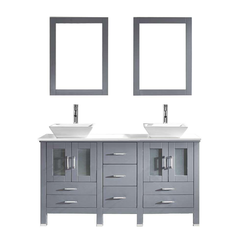 modern - bathroom vanities - bath - the home depot