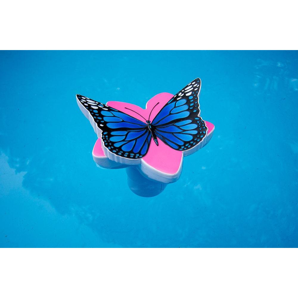 Poolmaster Butterfly Chlorine Dispenser In Blue 32129