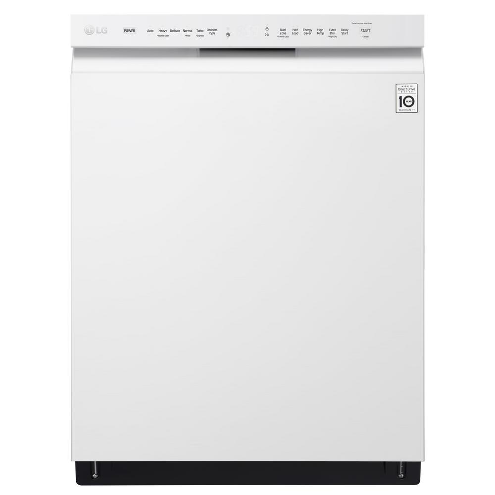Lg Electronics 24 In Front Control Built In Tall Tub Dishwasher