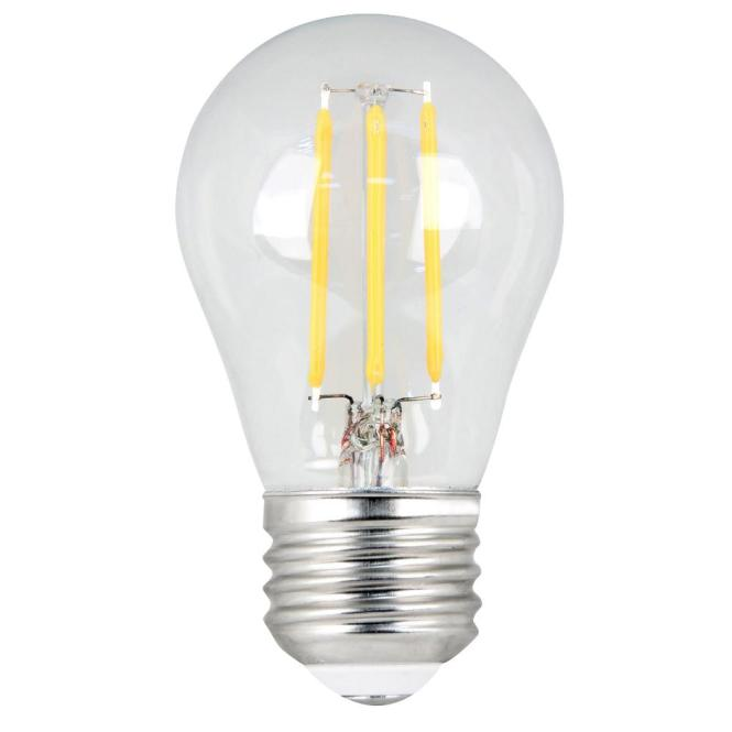 Led Replacement Light Bulb 2 Ge 60 Watt Equivalent Uses 7 Watts Small Base Daylight Clear
