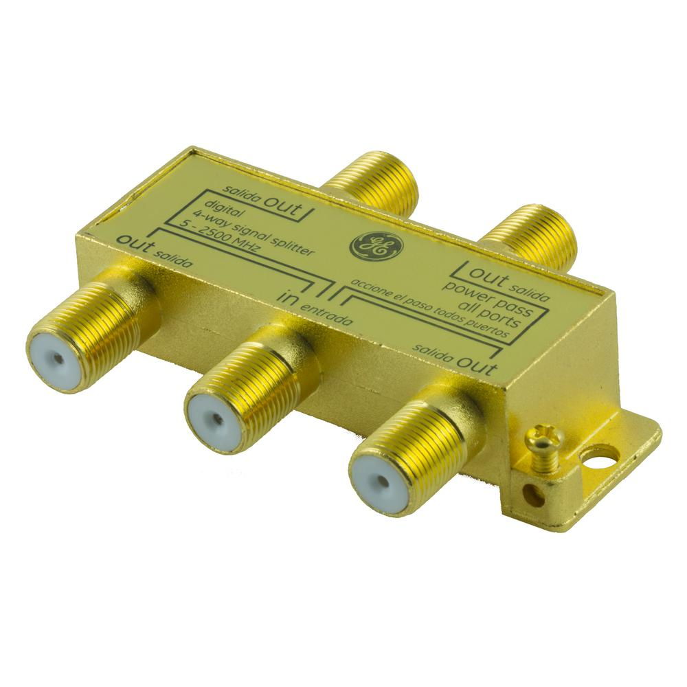 2 Way Coaxial Cable Splitter Internet