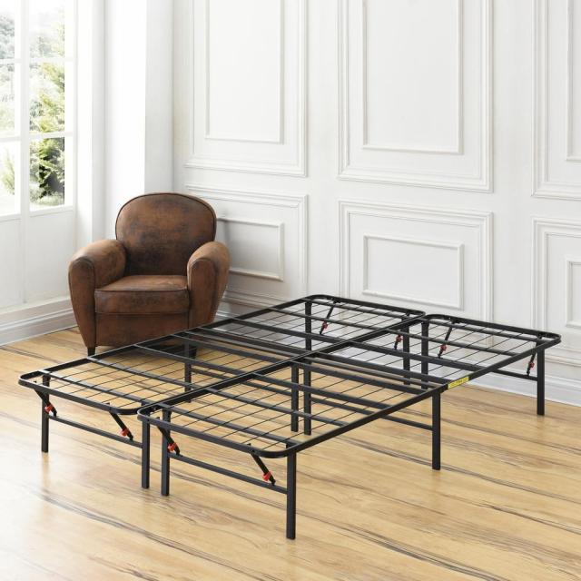 Hercules King Size 14 In H Heavy Duty Metal Platform Bed Frame 125001 5060 The Home Depot