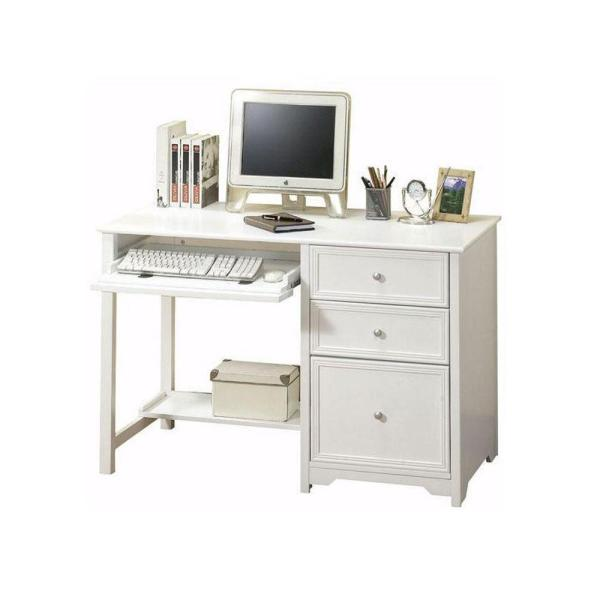Home Decorators Collection Oxford White Computer Desk 6769410410     Home Decorators Collection Oxford White Computer Desk