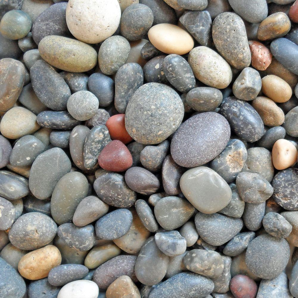 Smooth River Rocks Landscaping
