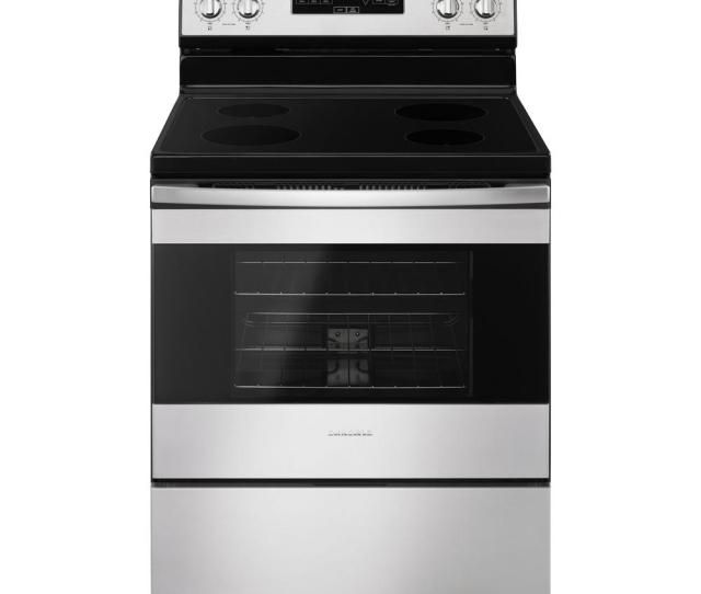 Amana   Cu Ft Electric Range In Stainless Steel