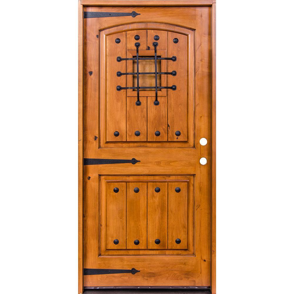 Krosswood Doors 42 In X 80 In Mediterranean Knotty Alder