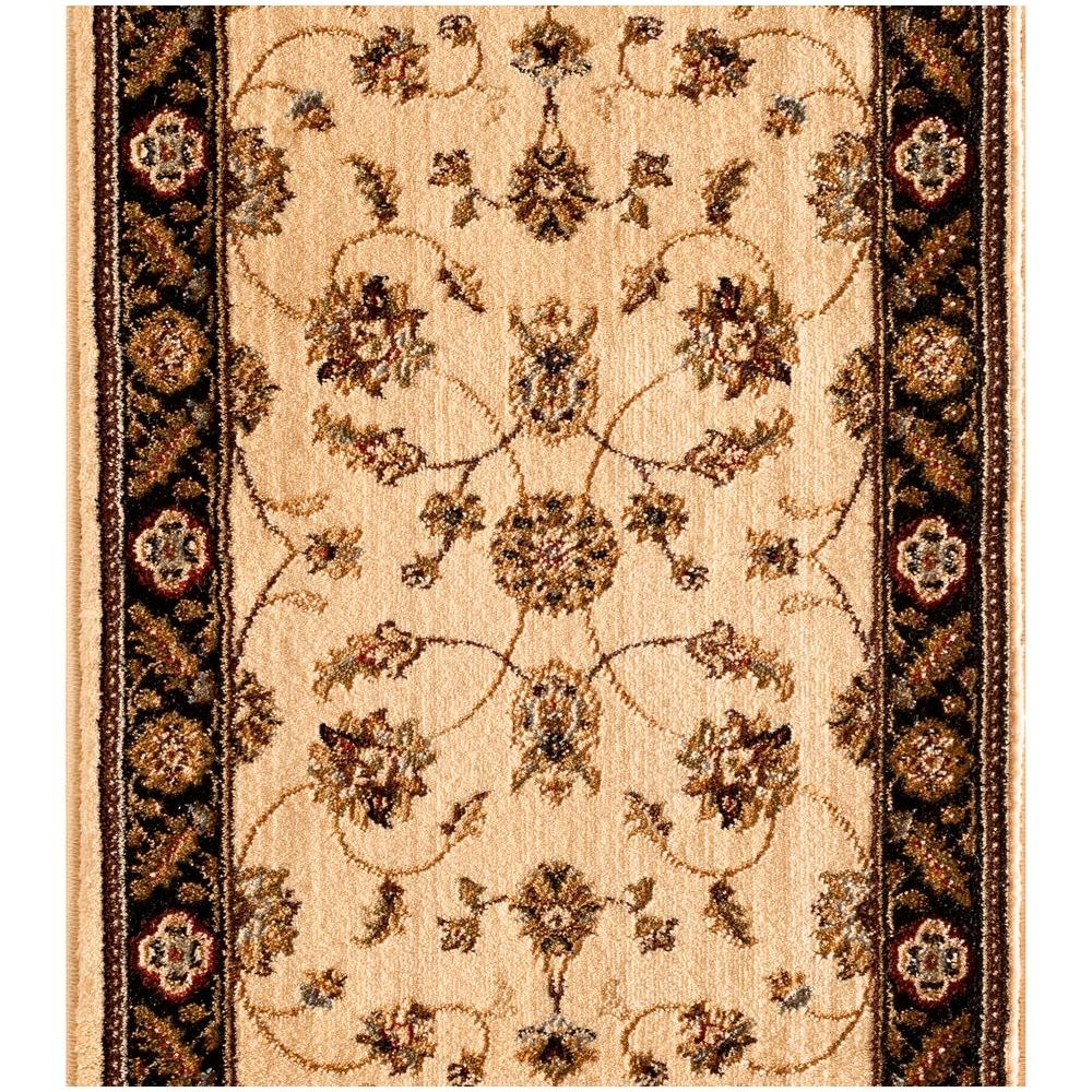 Natco Stratford Garden Gate Ivory 33 In X Your Choice Length   Home Depot Carpet Runners For Stairs   Natco Kurdamir   Carpet Flooring   Mat   Area Rugs   Reds Pinks