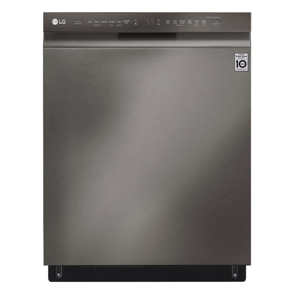 Lg Electronics 24 In Front Control Built In Smart Dishwasher In