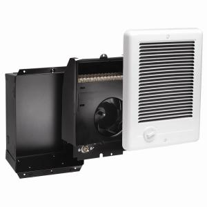 Cadet ComPak 1,500Watt 240Volt FanForced InWall Electric Heater in WhiteCSC152TW  The