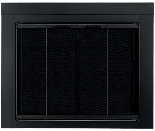 Ascot Small Glass Fireplace Doors