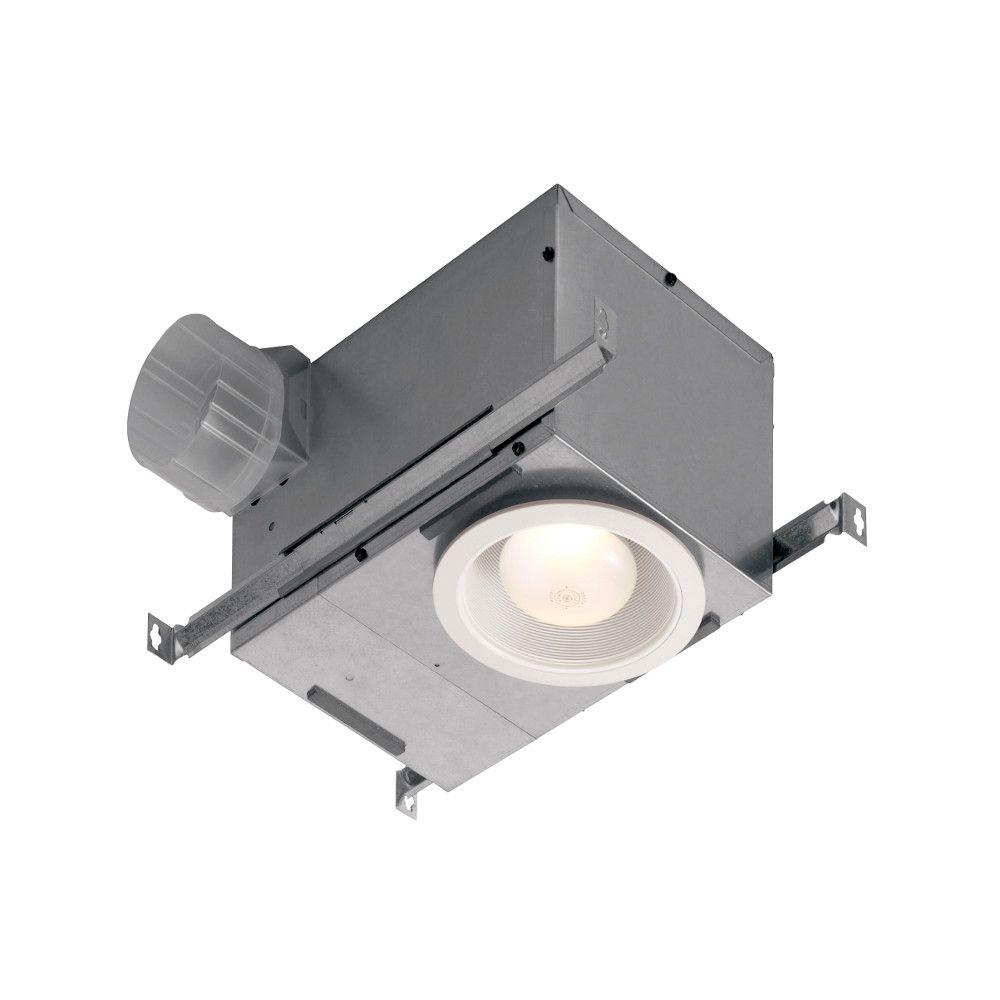 nutone 70 cfm wall/ceiling mount exhaust bath fan-695 - the home depot