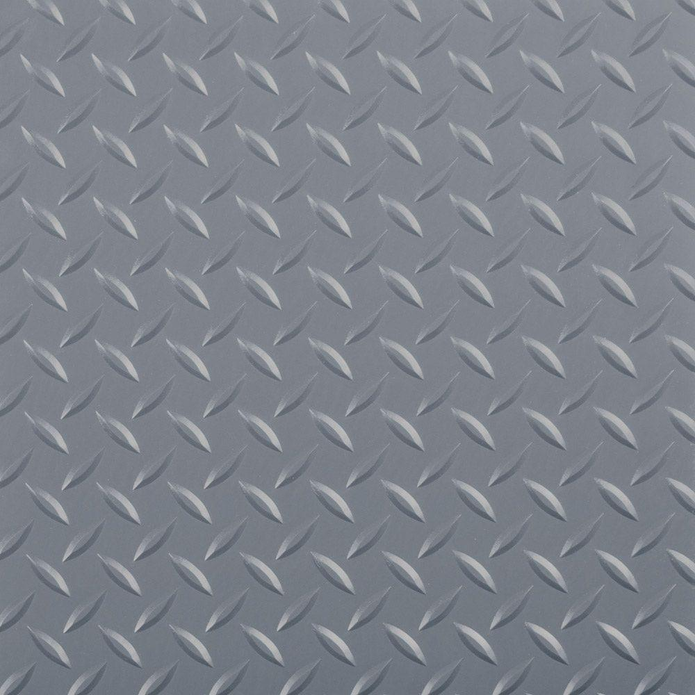 G Floor 10 Ft X 24 Ft Diamond Tread Commercial Grade