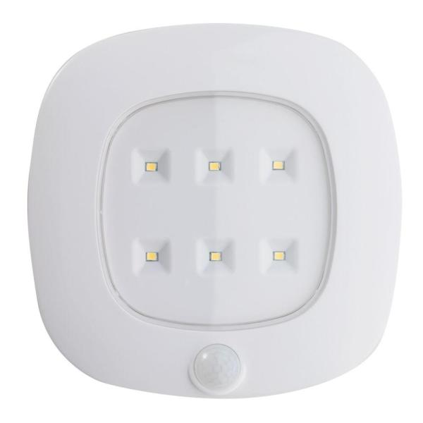 Light It  White Motion Sensor Ceiling Light 30028 308   The Home Depot Light It  White Motion Sensor Ceiling Light