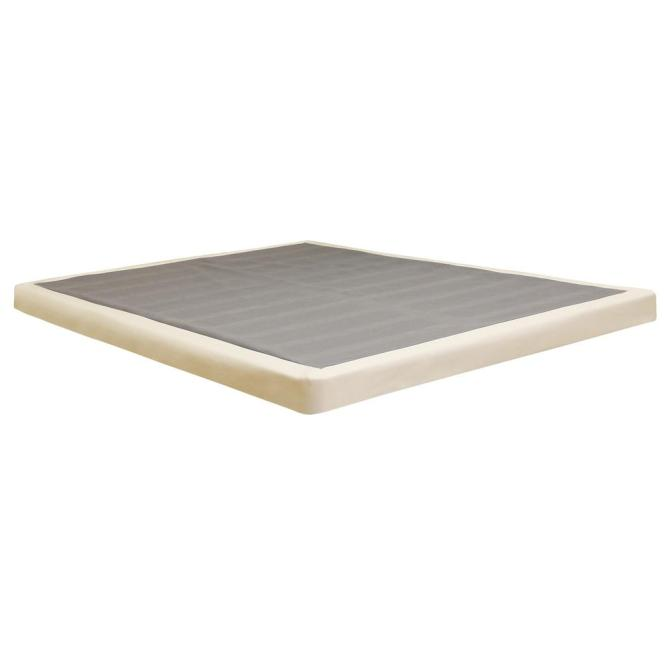 Instant Foundation Cal King Size 4 In H Low Profile Mattress 123001 5070 The Home Depot
