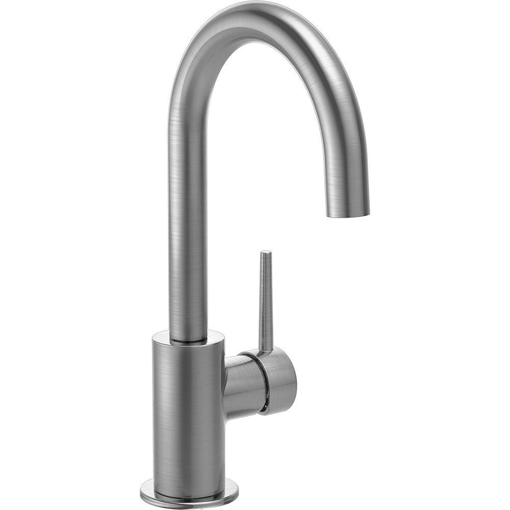 delta single hole bar faucet a