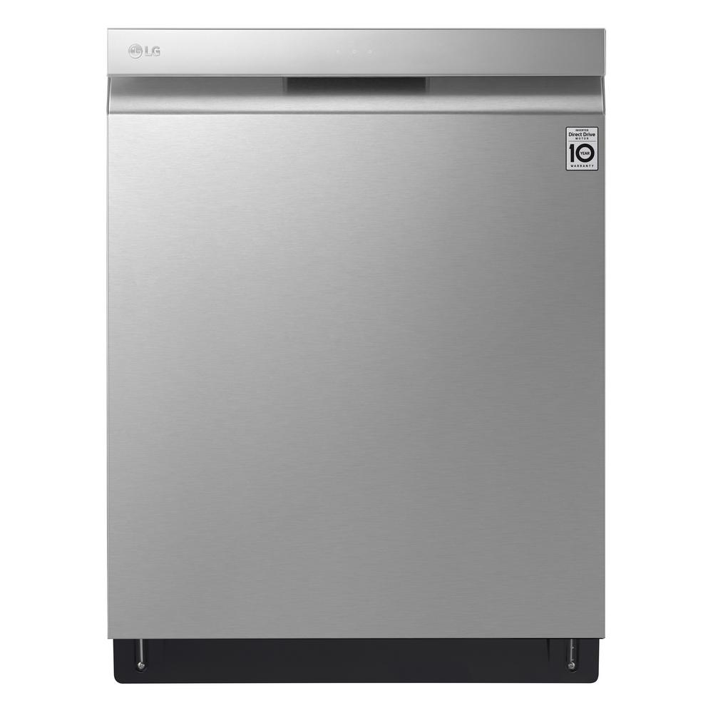 Lg Electronics 24 In Top Control Built In Dishwasher In