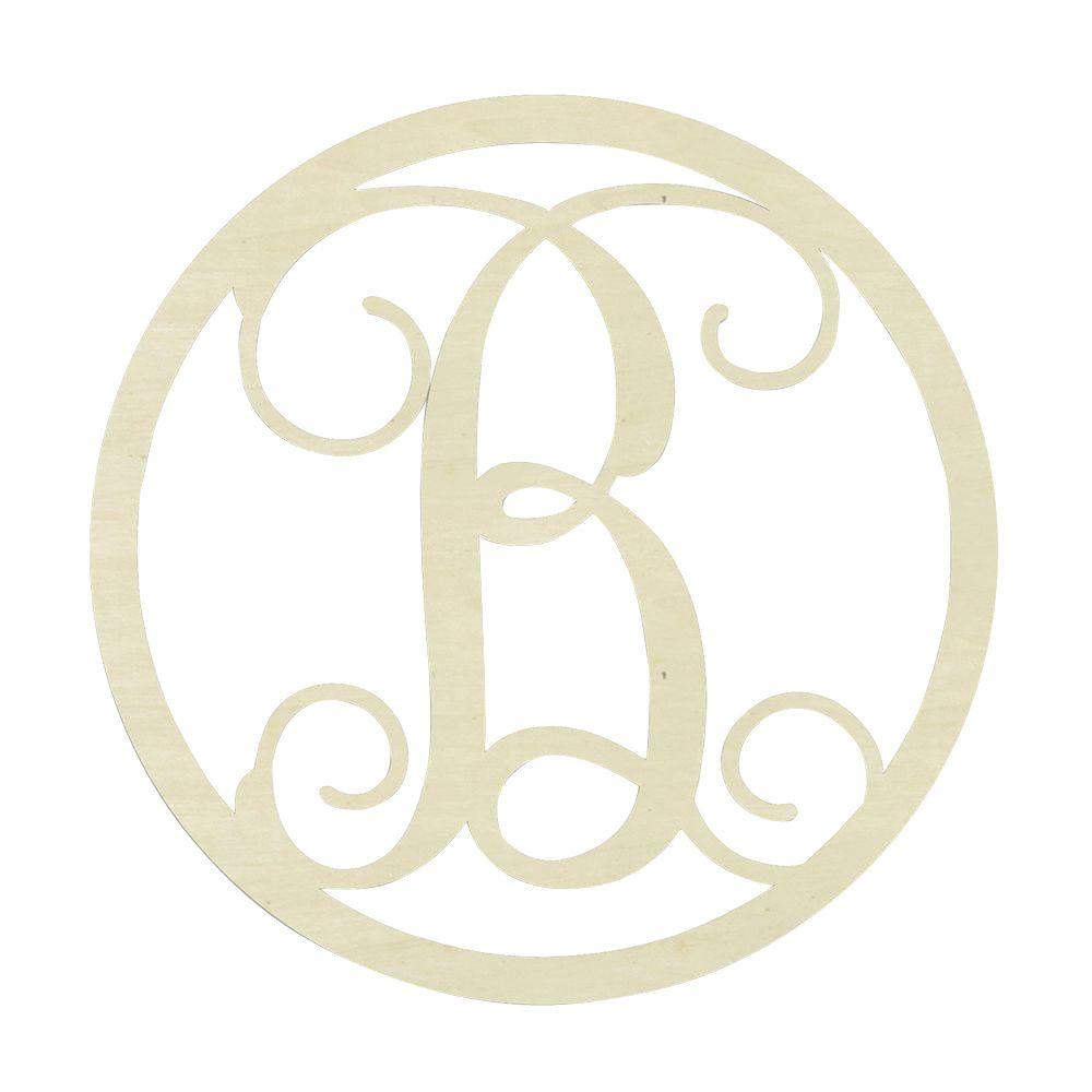 Monogram Letters Home Decor