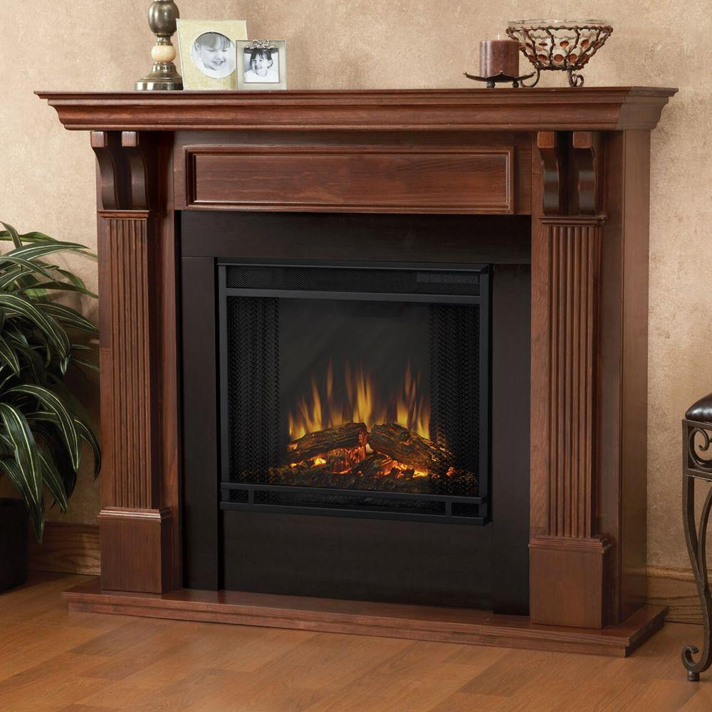 Freestanding Flame Fireplace Real Ashley