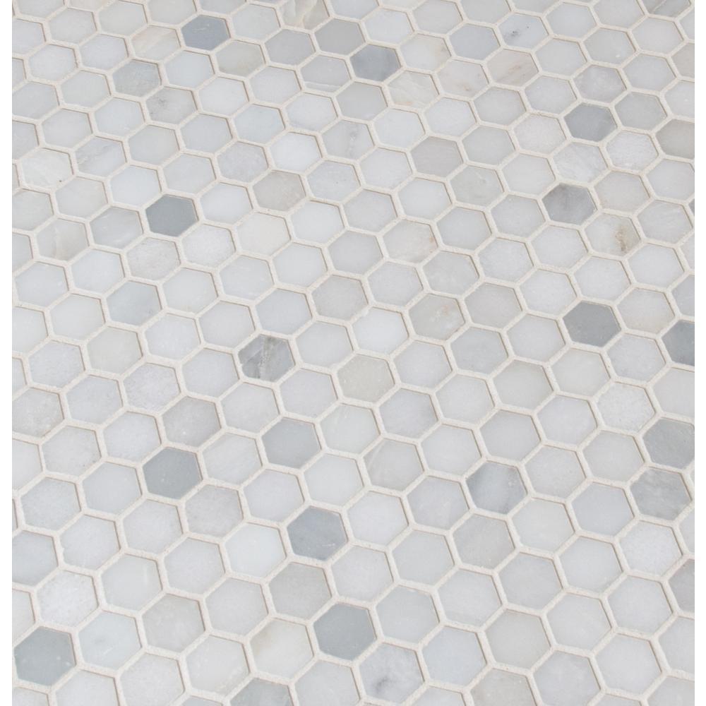 mosaic network mosaic tile hexagon